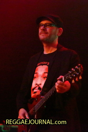 guitar player, House of Riddim 2014-11-01 Arsenaaltheater, Vlissingen, Holland