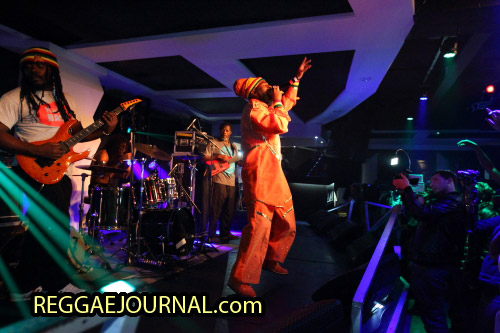 Capleton and the Prophecy band 2014-10-11 Club Empire, Rotterdam, Holland