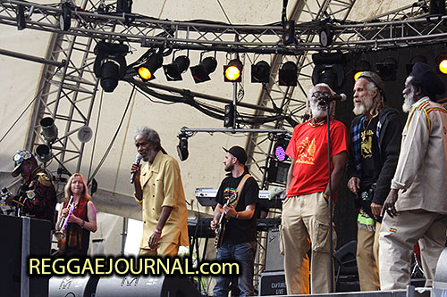 Lee Perry, Max Romeo and the Congos 2011-07-03 Summerjam festival, Fuhlinger See, Koln, Germany