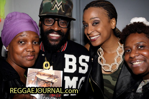 Tarrus Riley and Alaine CD signing session 2014-10-14 Paard van Troje, Den Haag, Holland