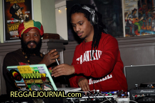 Warrior King and DJ Rowstone 2015-02-13 Cafe the Zen, Amsterdam, Holland