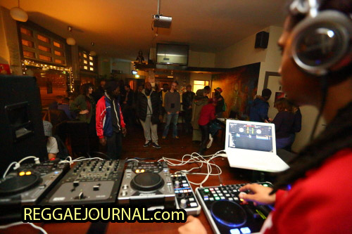 DJ Rowstone 2015-02-13 Cafe the Zen, Amsterdam, Holland